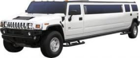 One of our Hummer stretch SUV limos in Seattle, WA