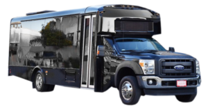 (E) FORD F550 EXECUTIVE VIP SHUTTLE BUS (up to 33 passenger) (No Luggage)