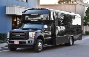 (H) Ford F550 Limousine Coach  (up to 26/30 Passengers)