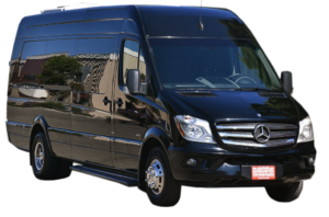 (A) Mercedes Sprinter Coach bus  (up to 14 passenger)