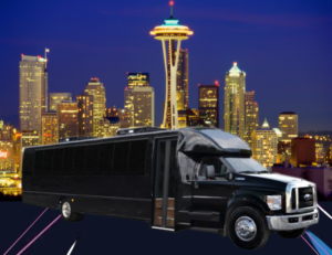 (G) FORD F650 EXECUTIVE VIP SHUTTLE BUS (up to 44 passenger)(No Luggage)