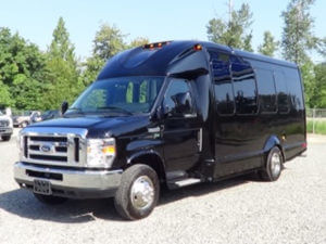 (B) Ford Mini Limo Bus (up to 14 Passengers)