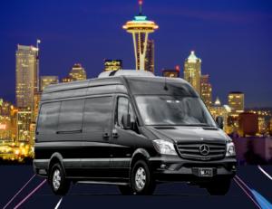 (A) Mercedes Sprinter Executive Van (up to 10 Passengers)