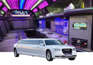 (1) Chrysler 300 Stretch Limousine (BRAND NEW) (Up to 10 Pass) (2 Limos Available)