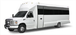 Up to 18 pass luxury limo bus (New)