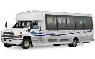 Up To 34 Pass. Luxury Limo Bus (New)