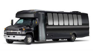 Up To 38 Pass. Luxury Limo Bus (New)