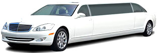 Up to 10 Pass Stretch Mercedes S600 Limousine
