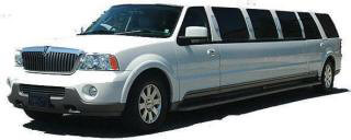 Up to 14 pass Stretch Lincoln Navigator Limousine