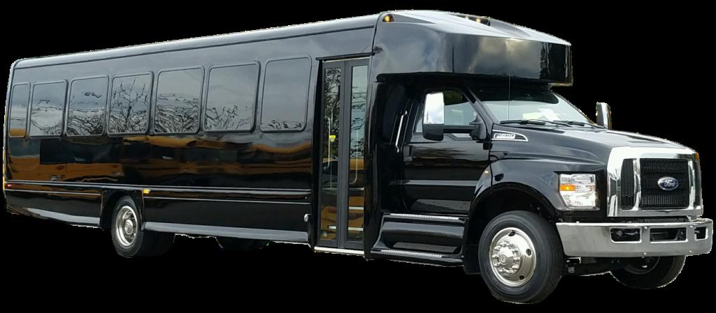 ford  executive vip shuttle bus    passenger aa limousine bus service