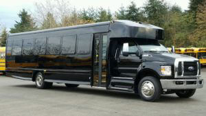 (F) FORD F650 EXECUTIVE VIP SHUTTLE BUS (Up to 36 Passengers)