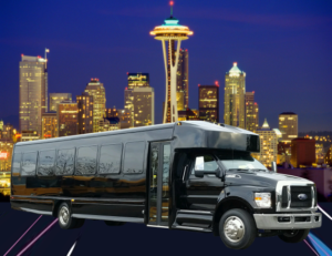 (F) FORD F650 EXECUTIVE VIP SHUTTLE BUS (Up to 36 Passengers)(No Luggage)