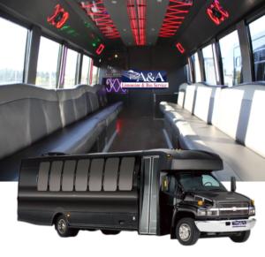 (H) Chevrolet Kodiak C5500 Limousine Coach (up to 32/36 Passengers)