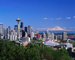 Charter bus cities we serve in western washington