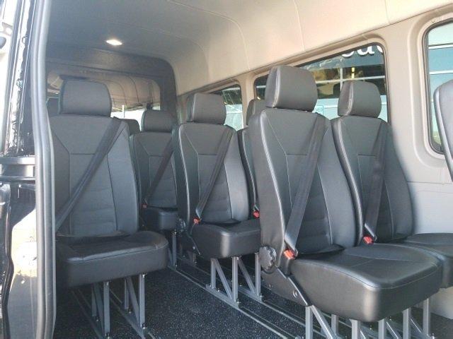B) Mercedes Sprinter Coach bus (up to 14 passengers) - A&A