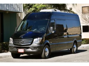 (A) MERCEDES BENZ LIMOUSINE SPRINTER COACH (up to 10 Passengers)