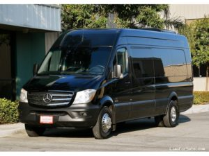 (D) MERCEDES BENZ LIMOUSINE SPRINTER COACH (up to 14 Passengers)