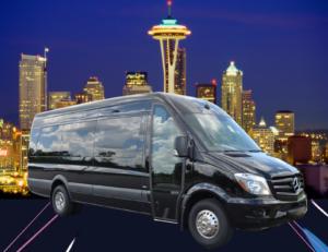 (D) Mercedes Benz Sprinter VIP Shuttle Coach (up to 14 passengers)