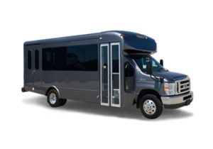 (J) VIP EXECUTIVE VIP MINI COACH (up to 14 passenger) (ADA Wheelchair Lift)