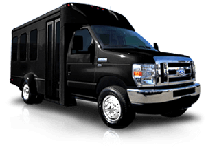 (J) VIP EXECUTIVE VIP MINI COACH (up to 14 passenger) (ADA Wheelchair Lift)